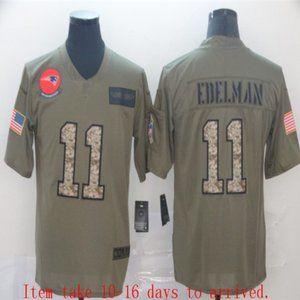 New England Patriots Julian Edelman Jersey